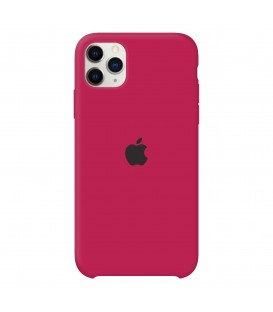 İphone 11ProMax Silikon Arka kılıf (Rose Red)