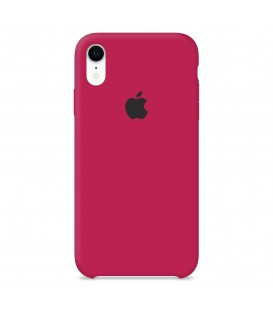 İphone XR Silikon Arka Kılıf (Rose Red)